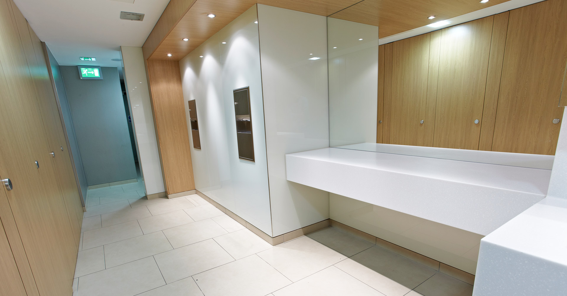view of the washroom