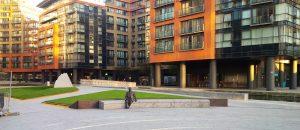 Granite Slabs in Merchant Square London