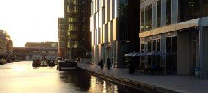 Sunrise at Merchant Square London