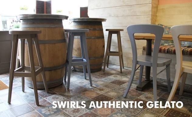 swirls authentic gelato patterned tiles