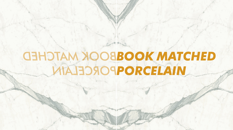 Book Matched Marble Porcelain