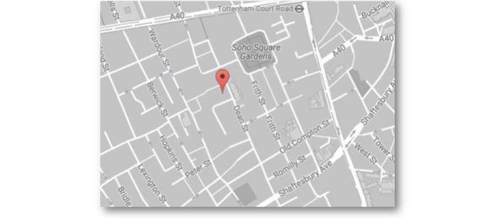 dean street map