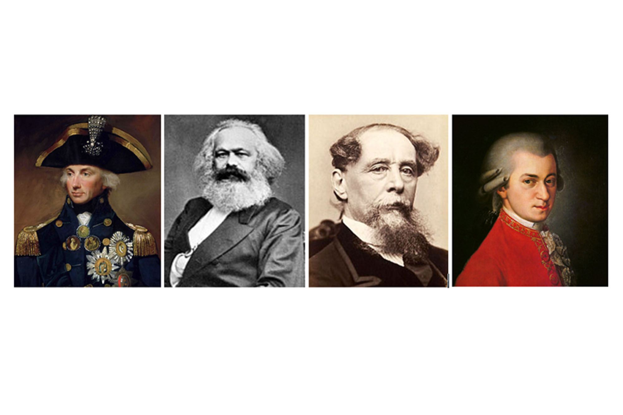 What Do Mozart, Karl Marx, Admiral Nelson & Charles Dickens All Have in Common?