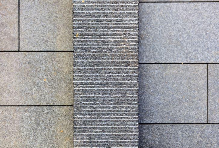 natural stone detailing