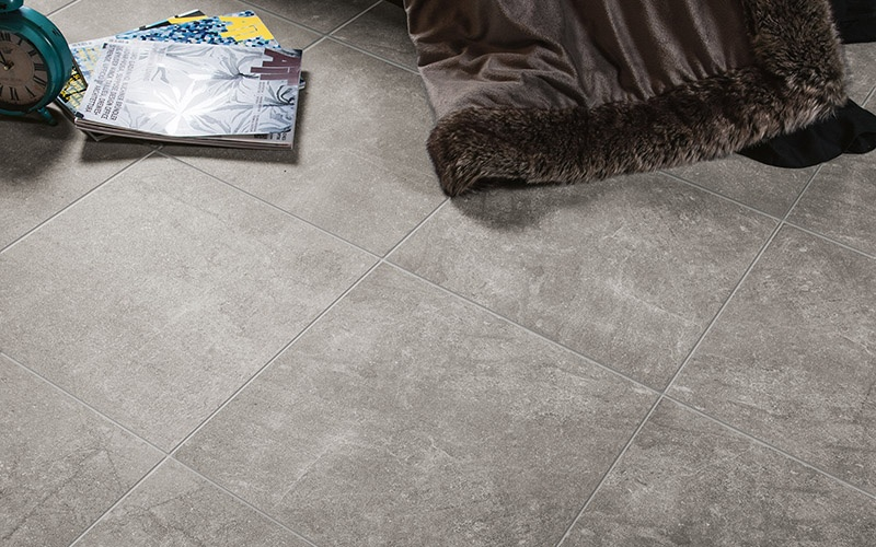 grey porcelain floor tiles