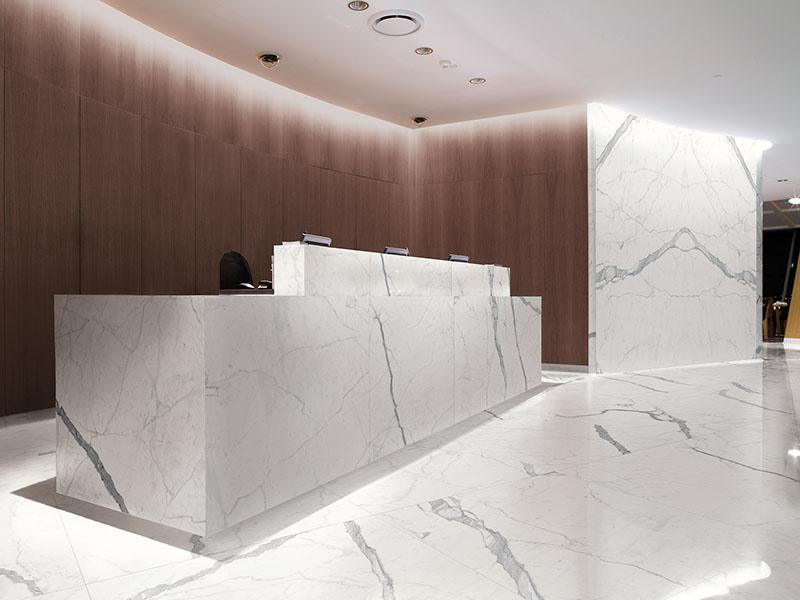 Kinorigo – Absolute Bianco reception area