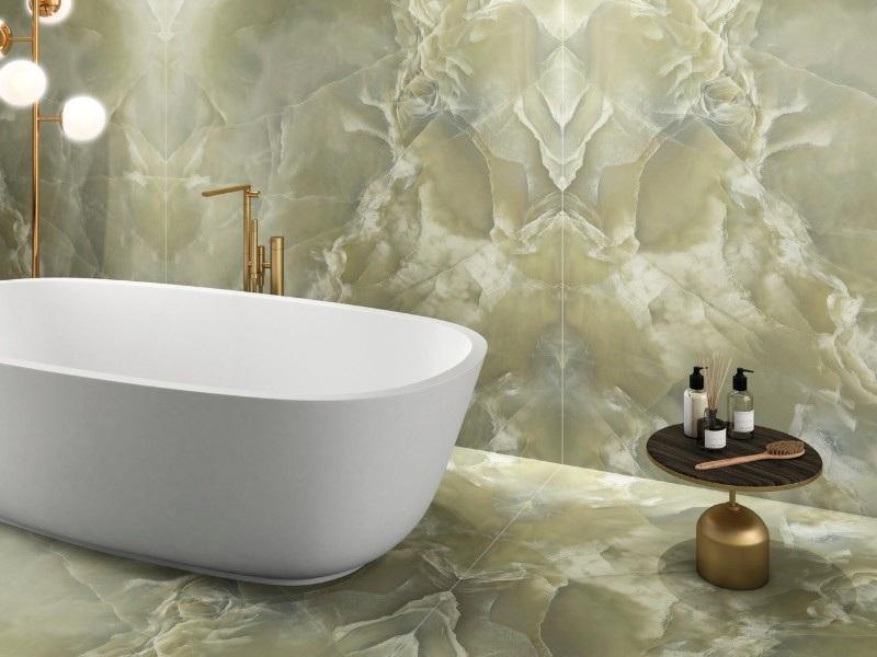 Kinorigo – Absolute Onyx Green Opal (1) – Bathroom (1)