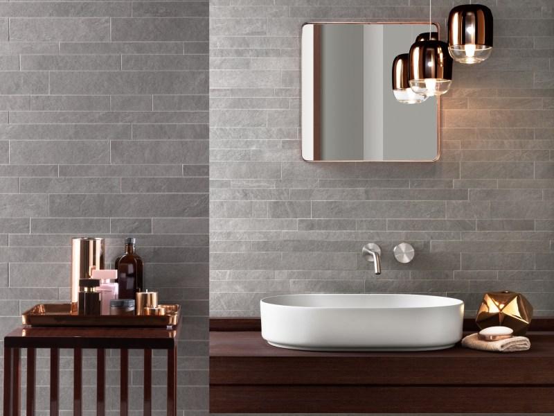 Kinorigo – Ardosia Silver – Bathroom mosaics