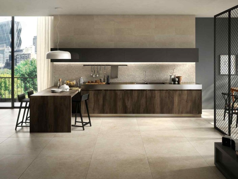 Kinorigo – Aurora Sand – Kitchen Living Area