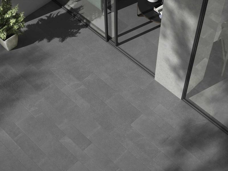 Kinorigo – Aurora Silver – Inside to outside porcelain tiles