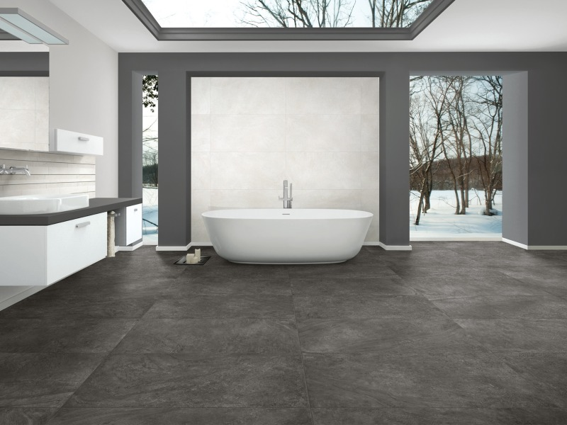 Kinorigo – Corvado Basalt Grey – Bathroom