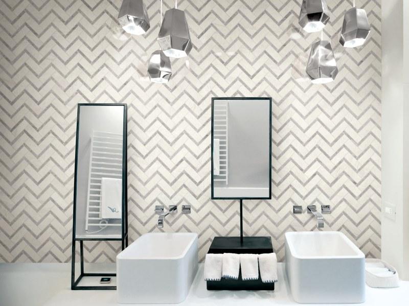 Kinorigo – Monaco Silver White Mosaics