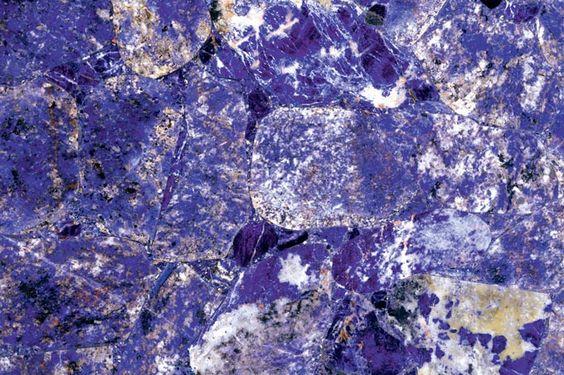 Purple sodalite