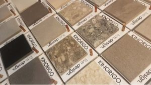 porcelain tile samples