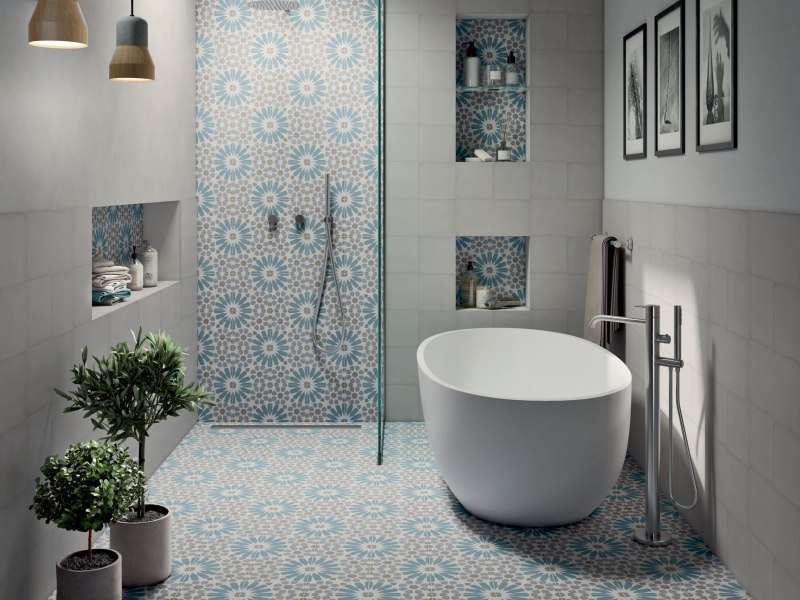 Kinorigo – Accent Anthology B Light Blue – Bathroom