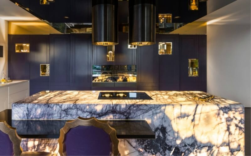Using Stone & Porcelain to Achieve the Ultimate Art Deco Effect