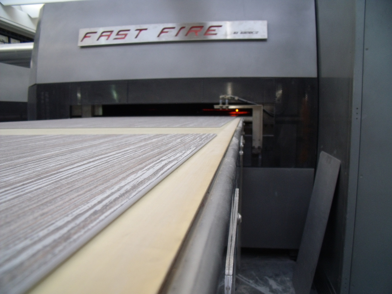 printing onto tile
