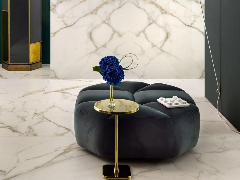Diola Calacatta – Kinorigo – Butterfly-matched – living room (1)