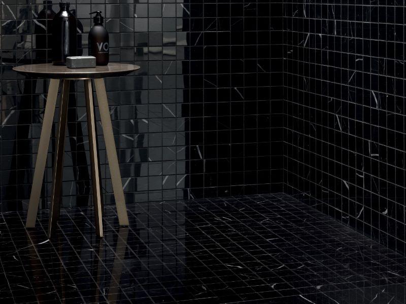 Diola Marquina – Kinorigo – mosaic -10mm-bathroom -003